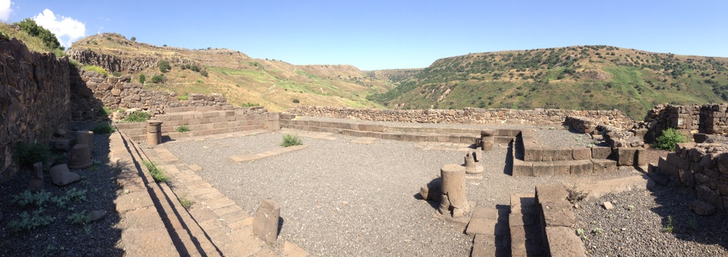 Gamla- 1st century synogogue