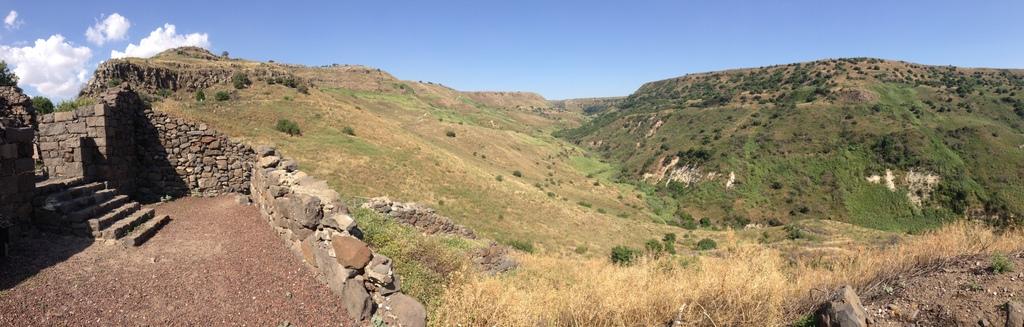Gamla - 1st century ruins