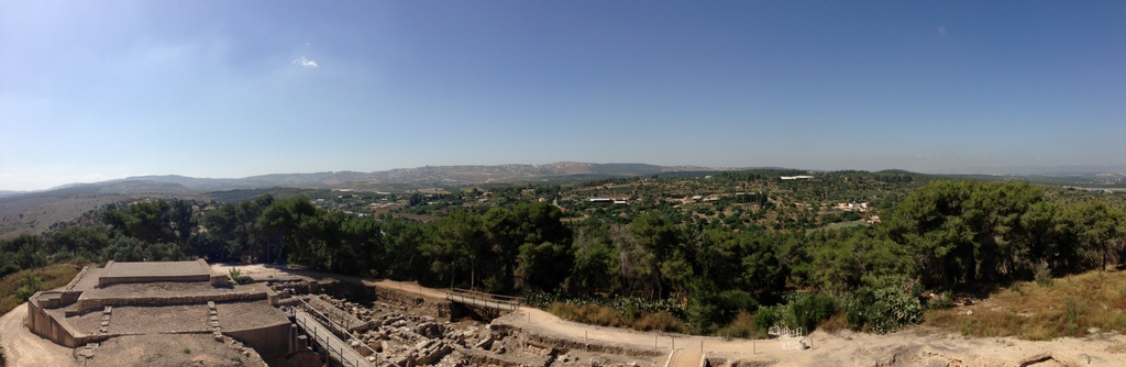 Sepporis - View of Nazareth Ridge