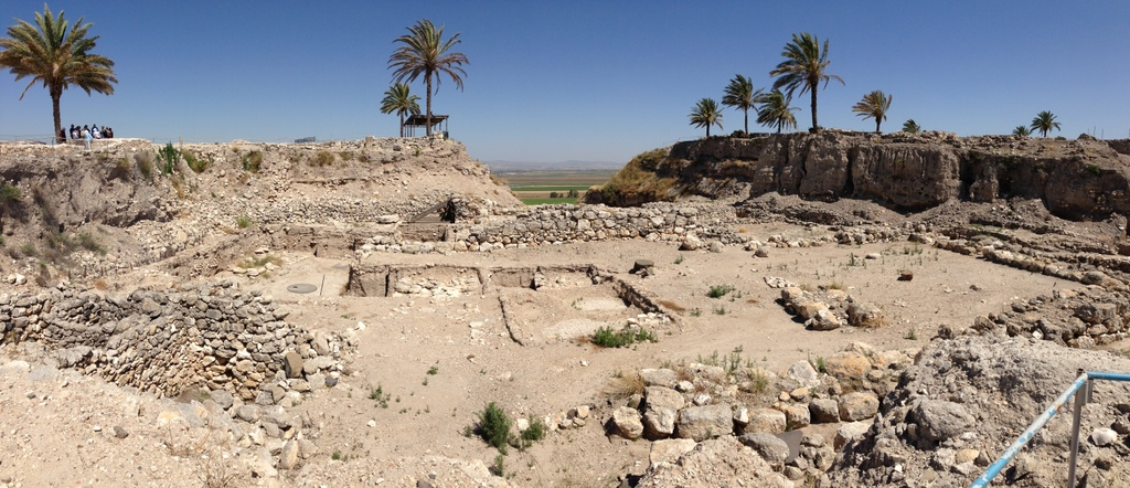 Megiddo - Early Bronze ruins