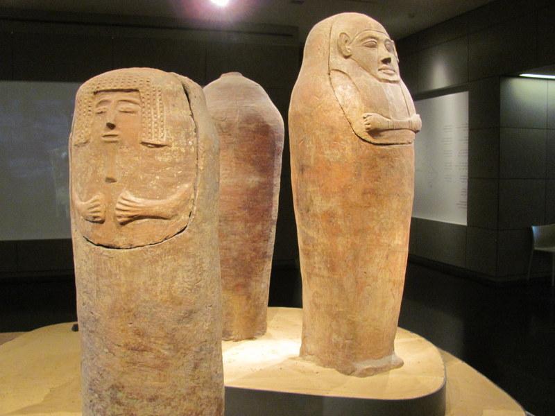 Anthropoid Coffins, Deir el-Balah, 13th Century BC