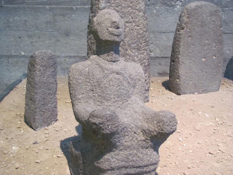 Temple Statue, Hazor, 15th-13th Century BC