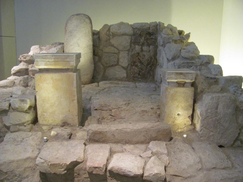 Holy of Holies / Sanctuary, Arad, 8th Century BC