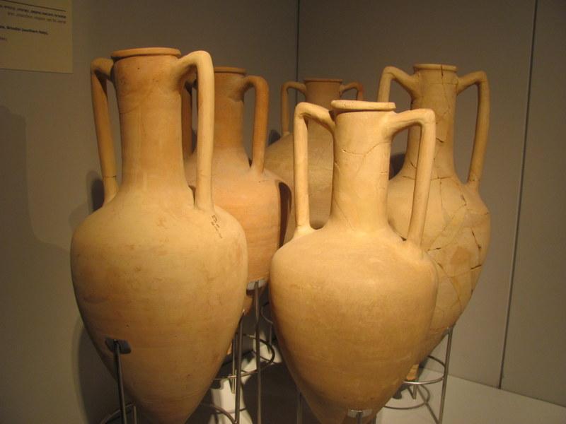 Imported Amphorae Pots, Maresha, 2nd Century BC