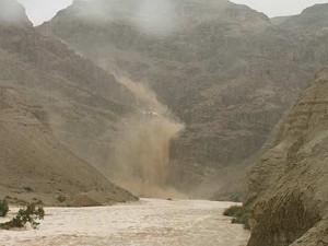 Qumran Floods