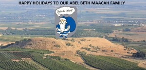 Abel Beit Macaah, Christmas Greetings from  the Abel Facebook Page