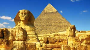 The Great Sphinx & Pyramids