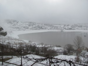 Snow in the Golan Heights