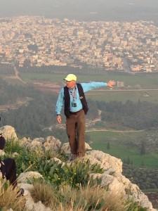 """Standing on the """"precipice"""" of Nazareth"""