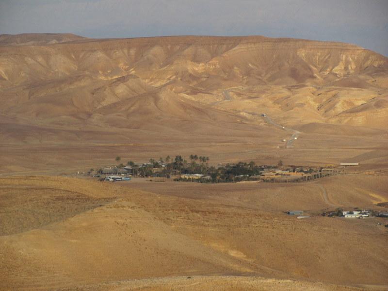 Overnight in the Desert