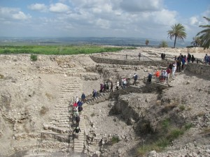 The water system at Megiddo