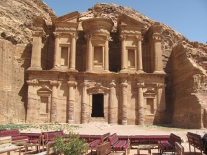 """The """"Monastery Tomb"""" at Petra"""