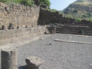 Gamla's 1st century synagogue