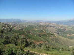 A view of Lebanon from the Mts. of Naftali