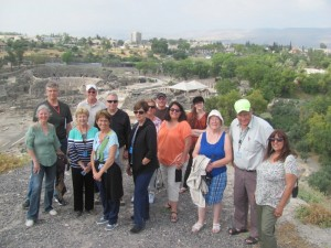 On top of Beth Shean