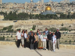 On the Mt. of Olives