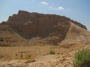 Masada (from the west)