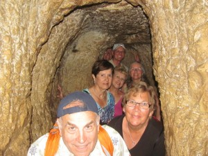 Inside Hezekiah's Tunnel