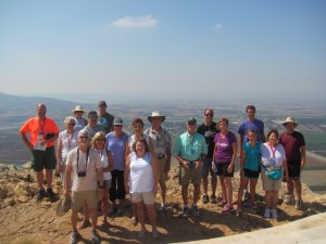 Precipice of Nazareth & Jezreel Valley