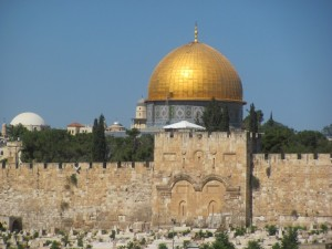 Eastern Gate & Dome of the Rock
