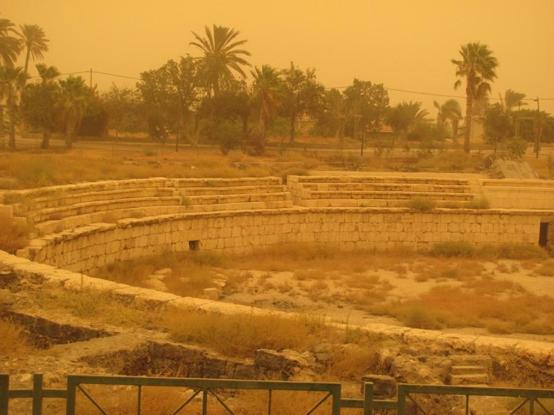 beth shean amphitheater