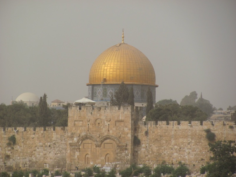 dome of the rock eastern gate
