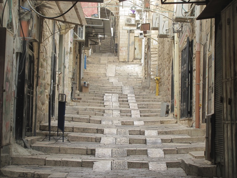 old city street jerusalem