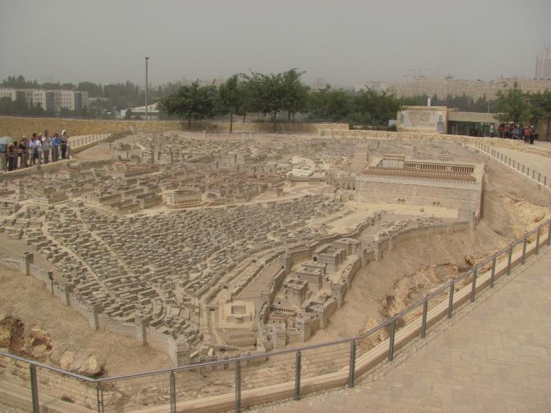 temple model israel museum