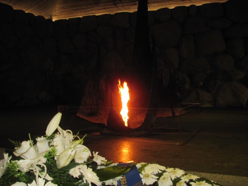 yad vashem gas chambers