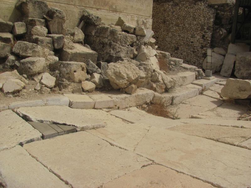 roman street jerusalem