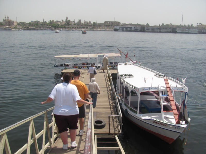 faluka boat ride nile river