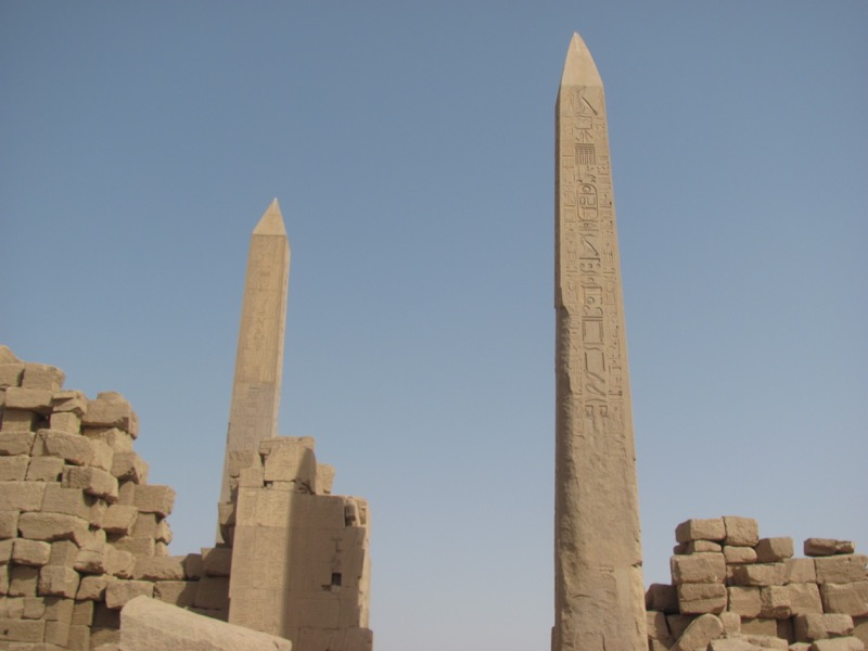 obelisk karnak tample hatsepsut