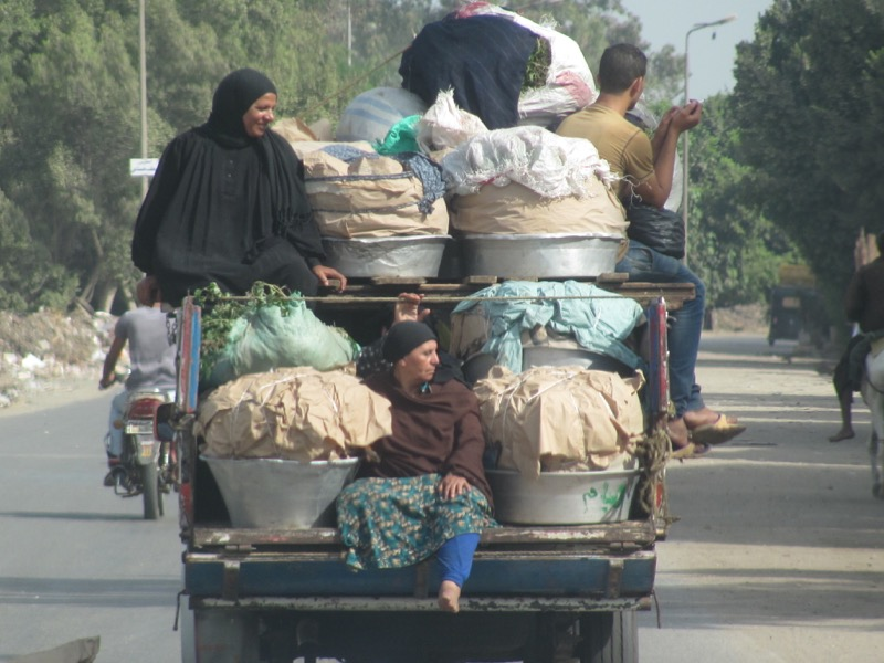 Memphis Egypt loaded car
