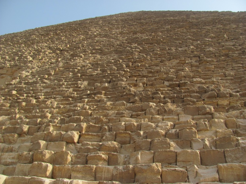 stones of great pyramid cairo giza