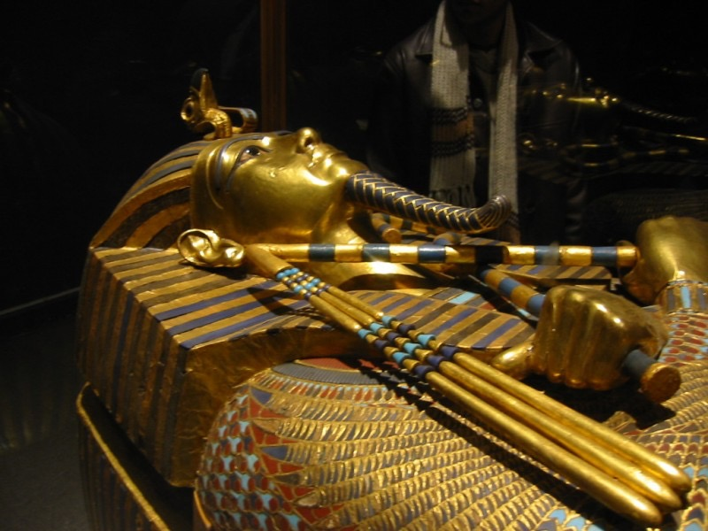 egyptian museum king Tut