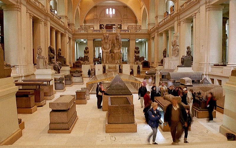 egyptian-museum inside