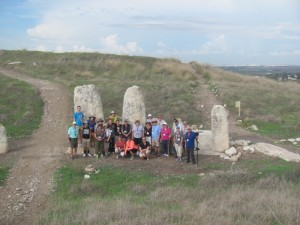 The standing stones at Gezer