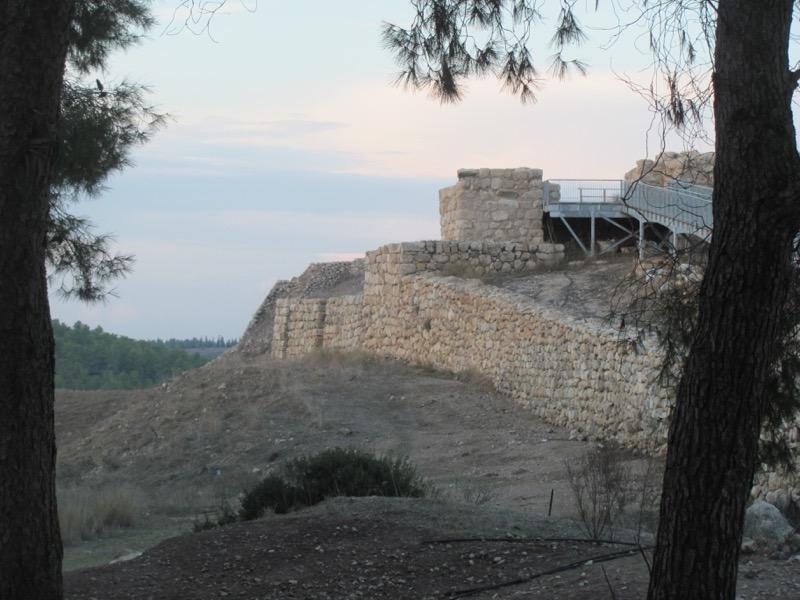 walls of tel lachish