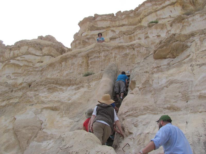 wadi zin hiking