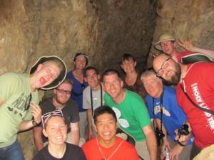 Inside Cave 1, Qumran
