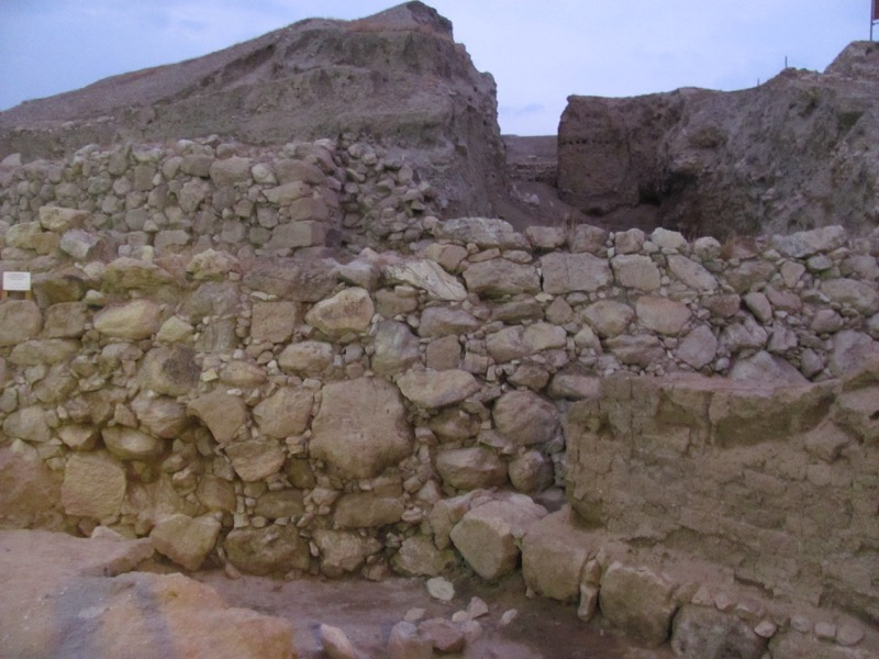 walls of ancient jericho