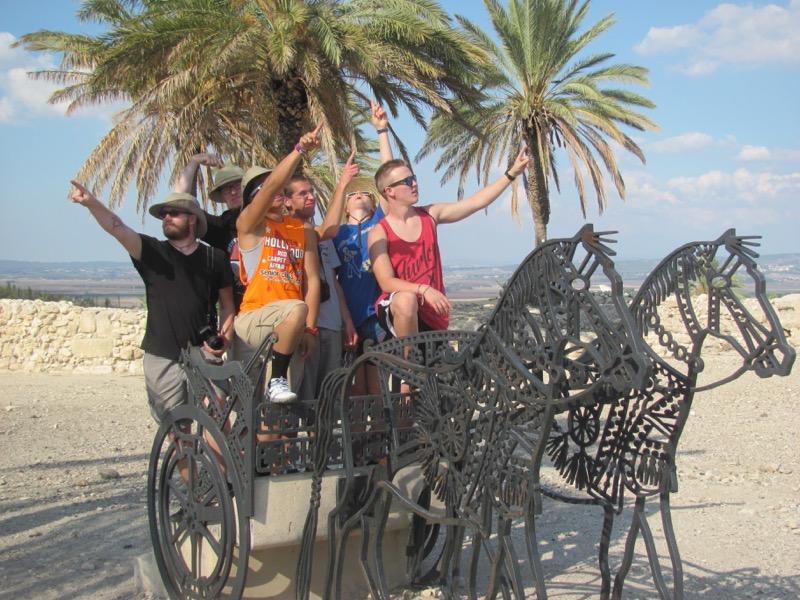 megiddo chariots