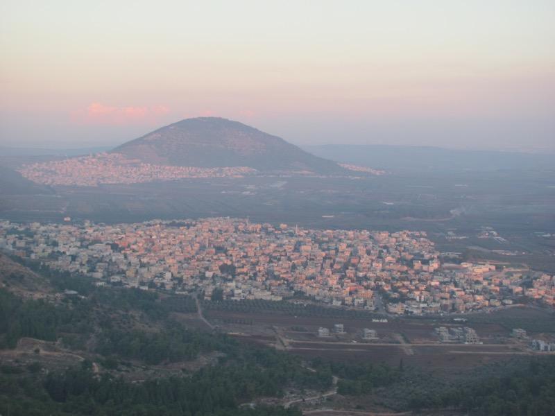 mt tabor jezreel valley
