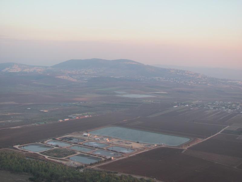 jezreel valley hill of moreh from precipice nazareth
