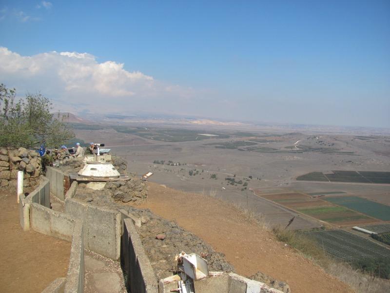 bental syria border