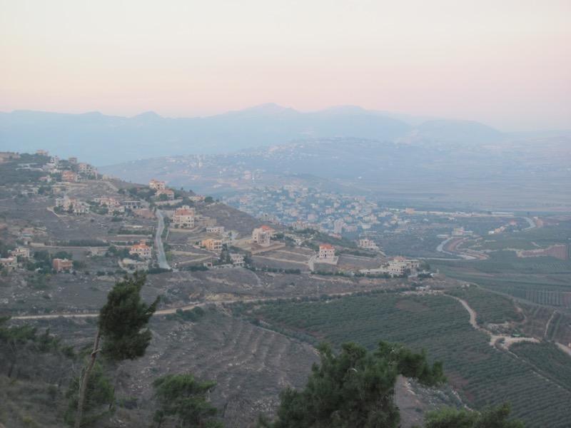 metulla israel lebanon border