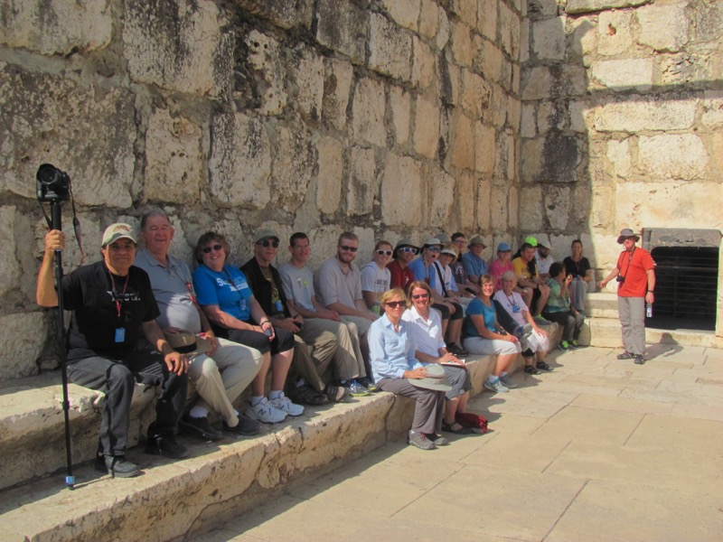 solid rock school of discipleship October 2015 Israel tour group