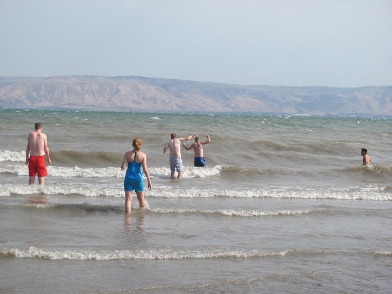 sea of galilee waves nof ginnosar