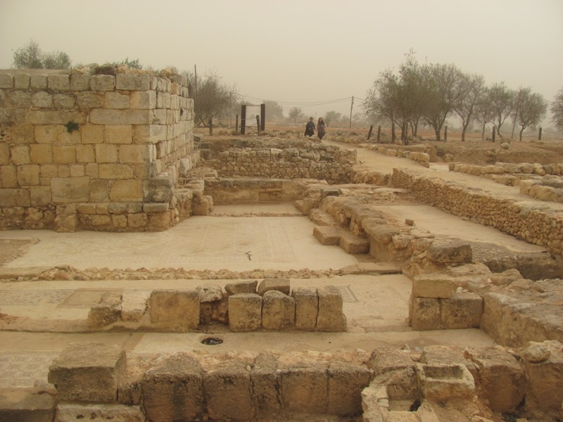 shiloh iron age ruins