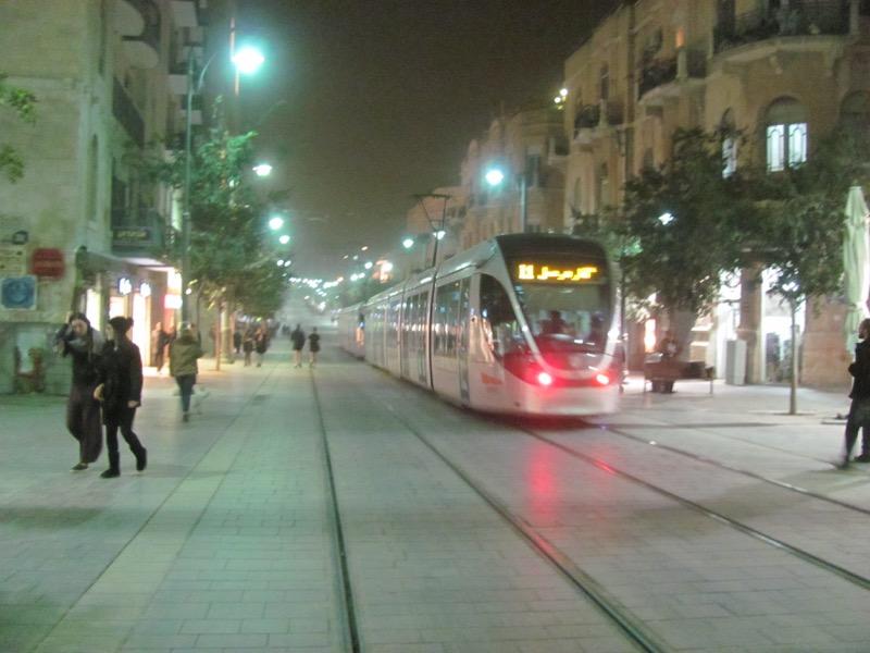 jaffa road jerusalem light rail